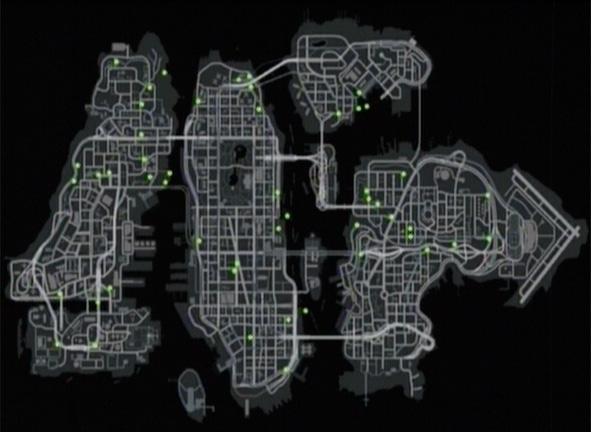 Карта прыжков GTA 4